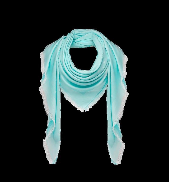 MCM Écharpe carrée en coton léger soie et laine Alternate View