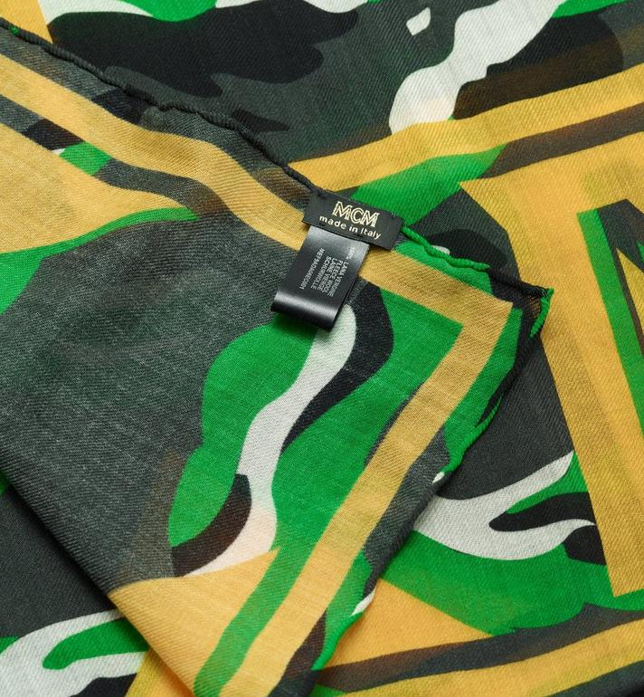 MCM Milano Wollschal mit Camouflage-Aufdruck  MEF9ADA06EC001 Alternate View 2
