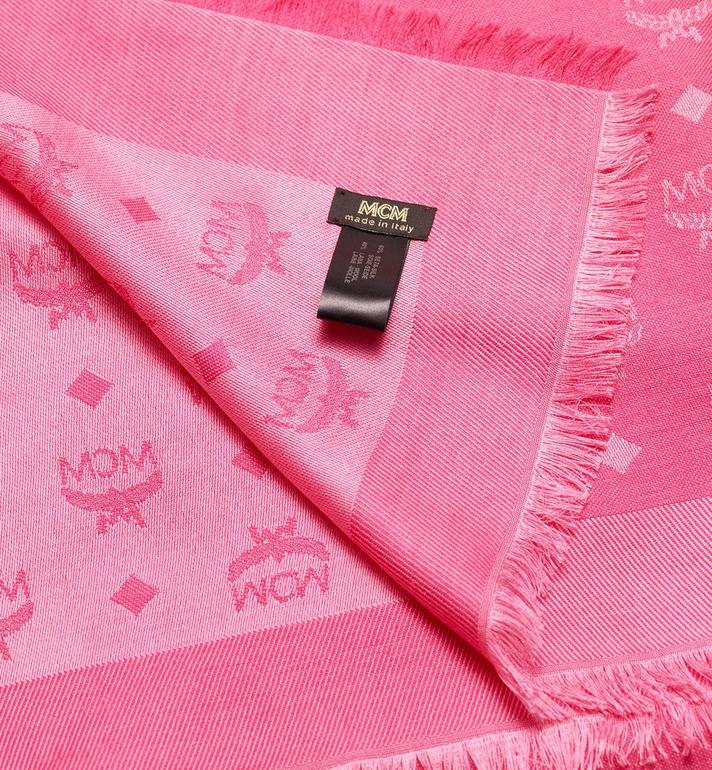 MCM Monogram Jacquard Scarf  MEF9AMM01QF001 Alternate View 2
