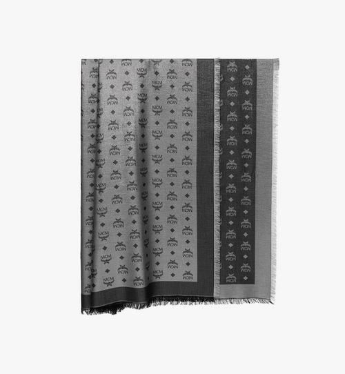 ผ้าพันคอ Lurex พิมพ์ลายโมโนแกรม