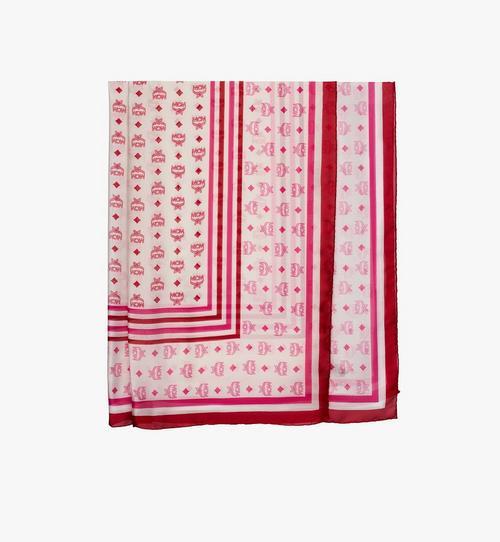 Écharpe monogramme en mousseline de soie