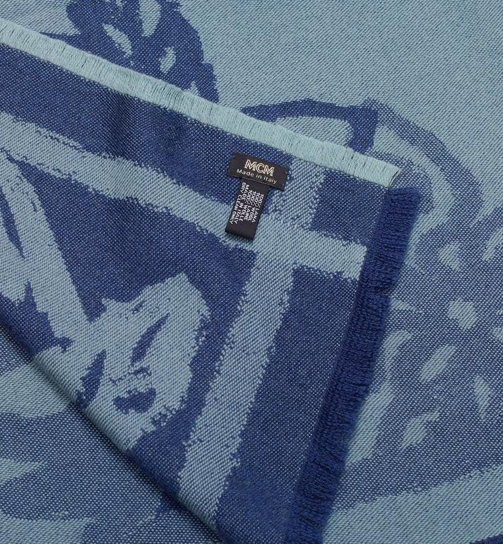 MCM Écharpe jacquard à logo imprimé Alternate View 2