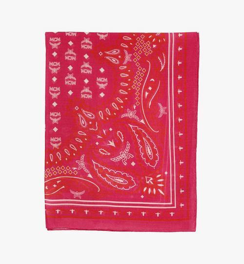 Écharpe en laine imprimé cachemire