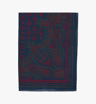 Paisley 印花羊毛圍巾
