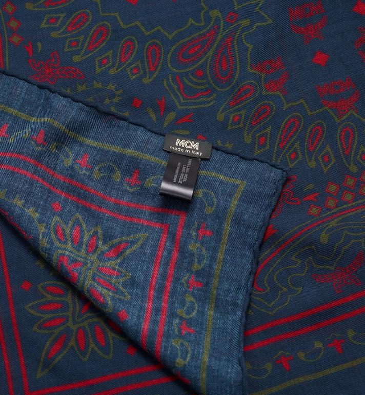 MCM Halstuch aus Wolle mit Paisleymuster  MEF9AMM07VS001 Alternate View 2