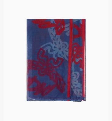 ผ้าพันคอ Jacquard พิมพ์ลายโลโก้