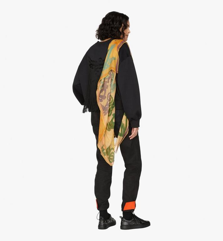 MCM Logo Print Jacquard Scarf Alternate View 3
