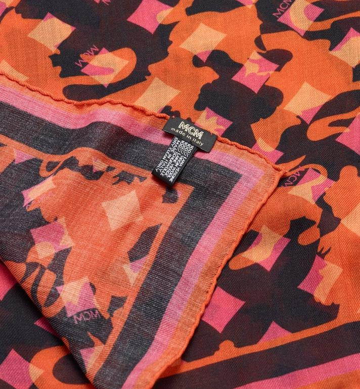 MCM Camo Print Stole  MEF9AMM33OP001 Alternate View 2