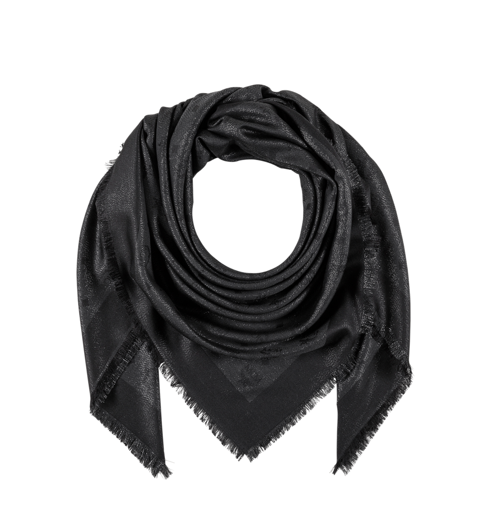 經典盧勒克絲金銀紗圍巾 1