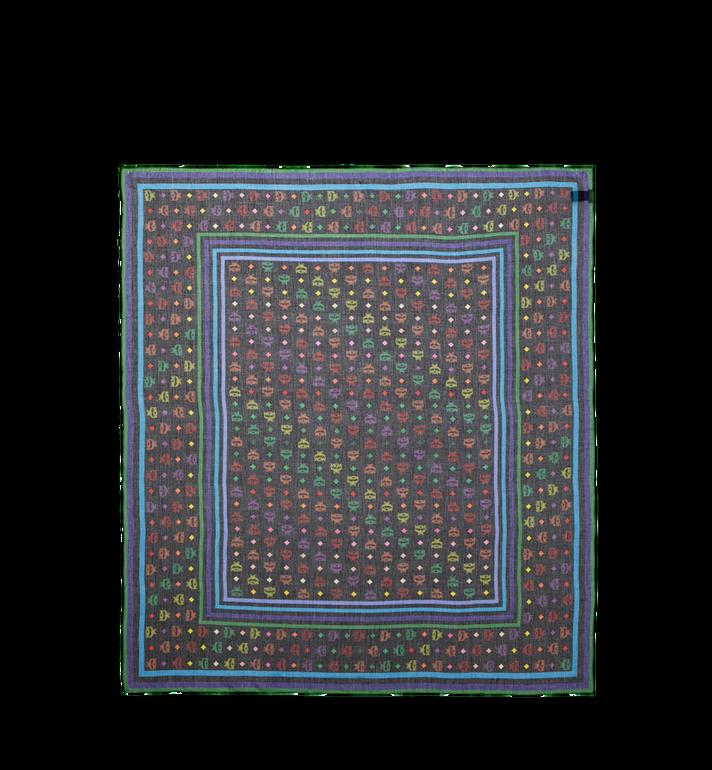 MCM Schal aus Seide und Modal mit Monogramm Black MEF9SMM03BK001 Alternate View 2