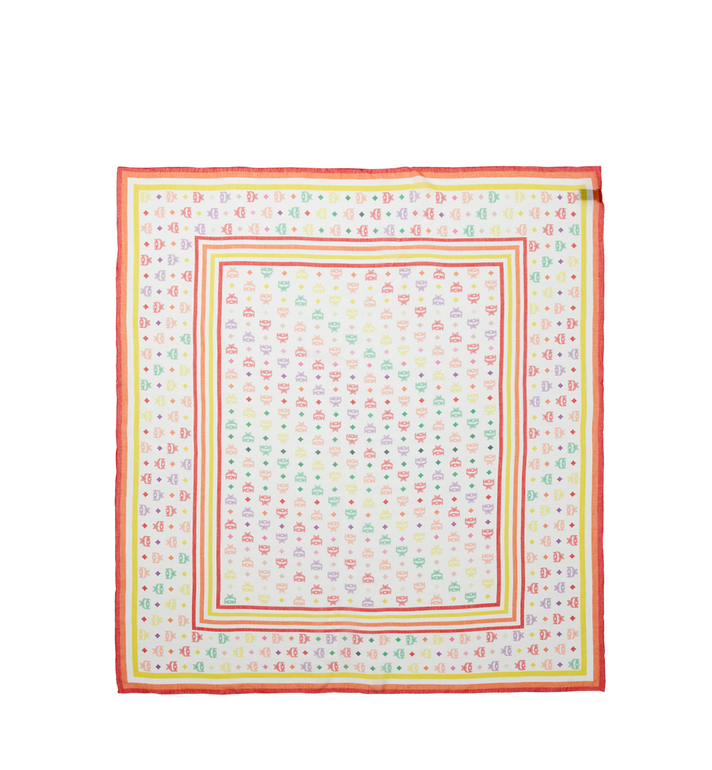 MCM Écharpe en soie et modal avec monogramme Alternate View 2
