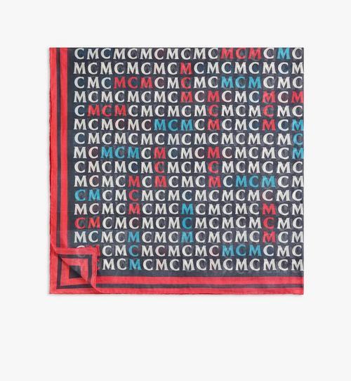 Schal mit MCM-Monogramm