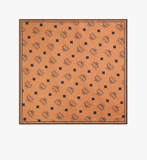 Foulard bandana à imprimé monogramme