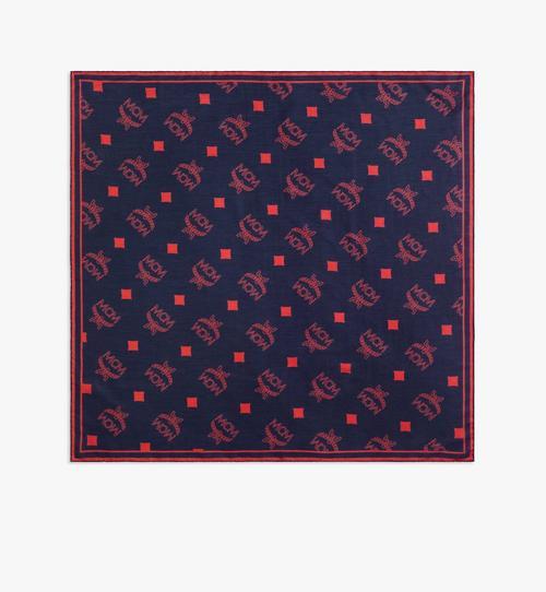 花押字圖案印花頭圍巾