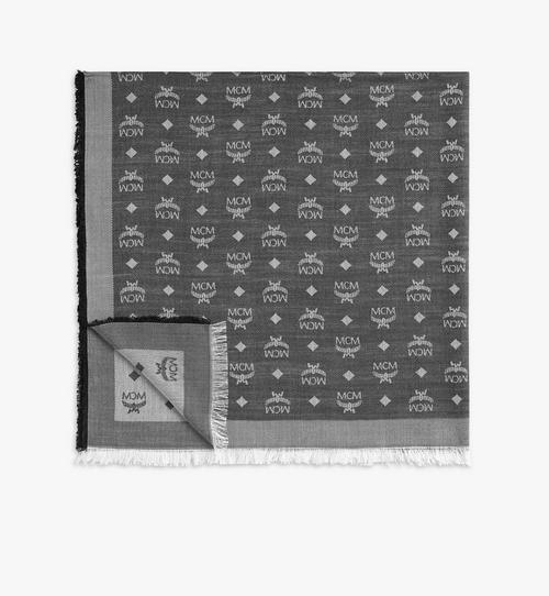 提花花押字圖案圍巾
