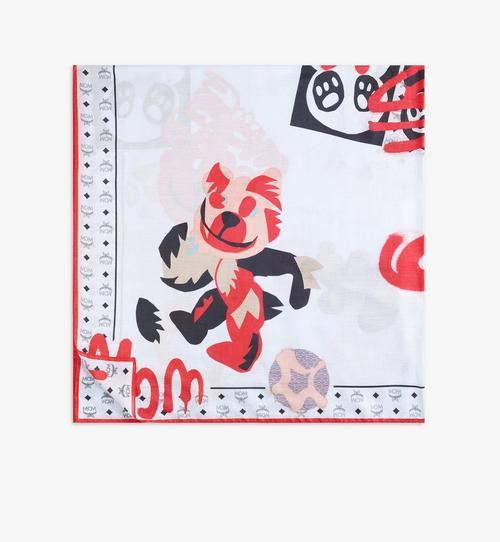 Berlin Bear Cotton Silk Shawl