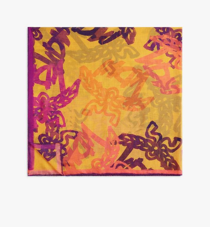 MCM Abstract Monogram Scarf Gold MEFASMM04O5001 Alternate View 1