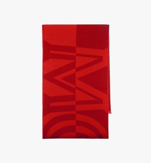 Halstuch aus Wolle mit Logo-Print