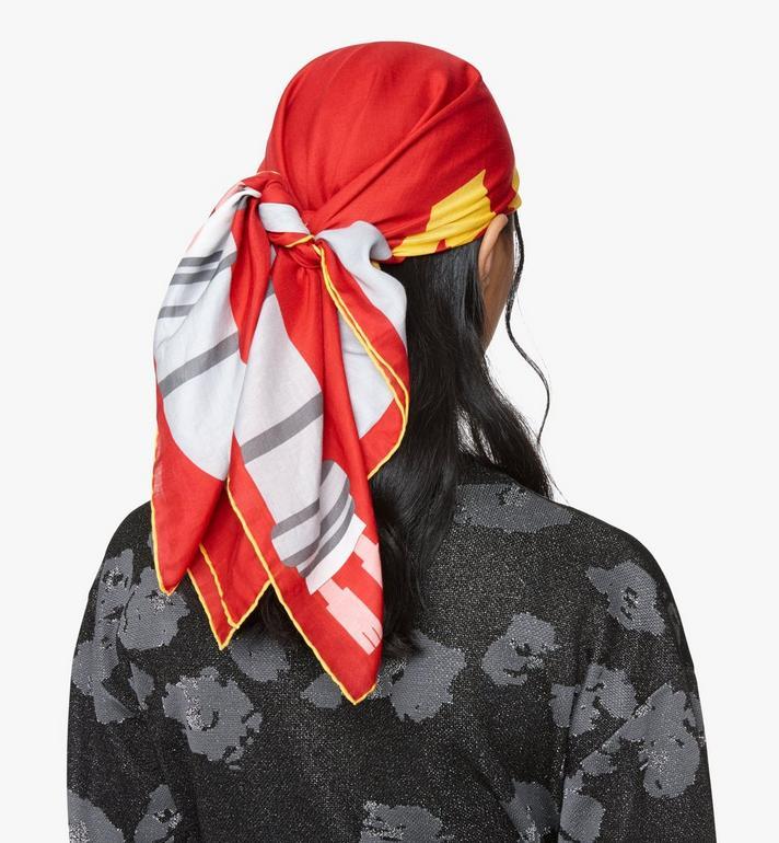 MCM 鼠年頭巾 Red MEFASSE02R4001 Alternate View 3
