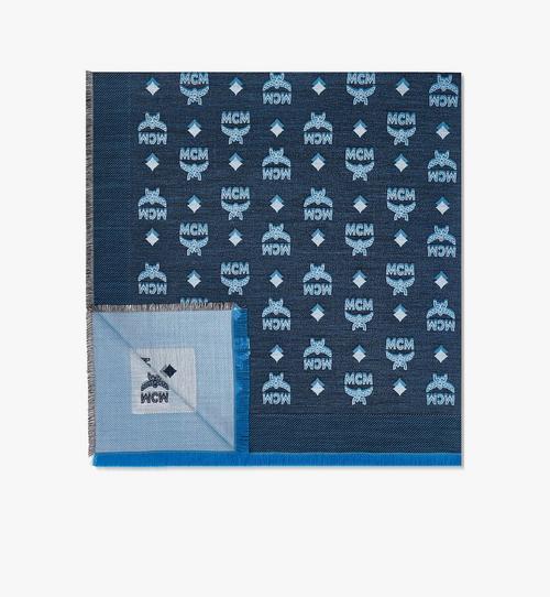 ผ้าพันคอโมโนแกรมแจ็คการ์ดสองสี