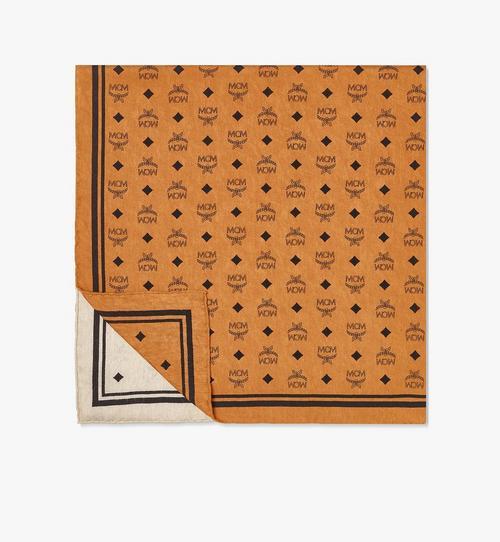 RE:Silk 縮寫字母圖案圍巾