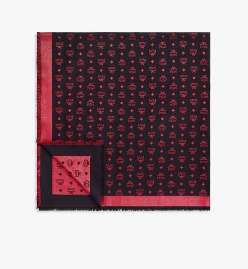 Schal aus Lurex mit Farbverlauf-Monogramm