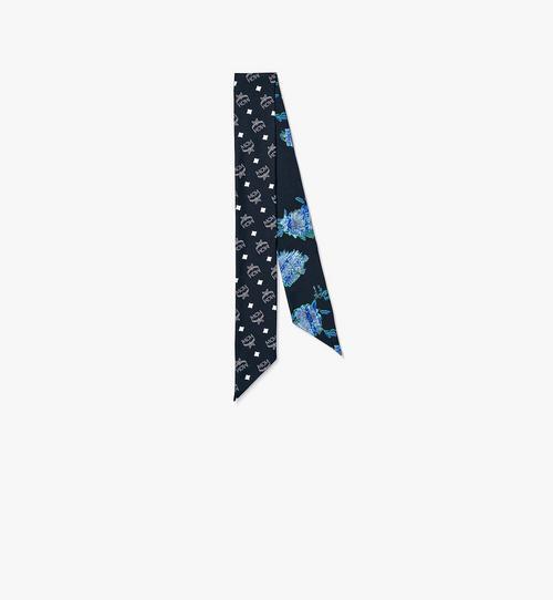 Tech Flower 真絲斜紋圍巾