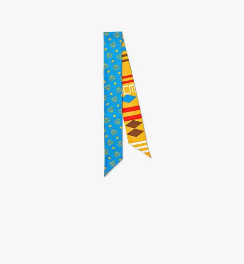 Geo Graffiti Silk Twilly Scarf