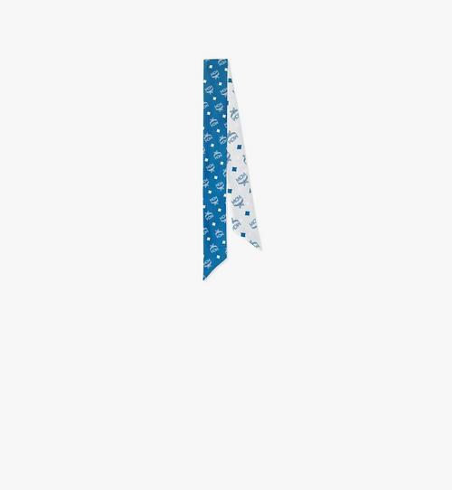 Écharpe en soie monogrammée
