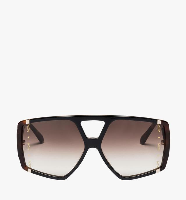 Square Logo Plaque Sunglasses