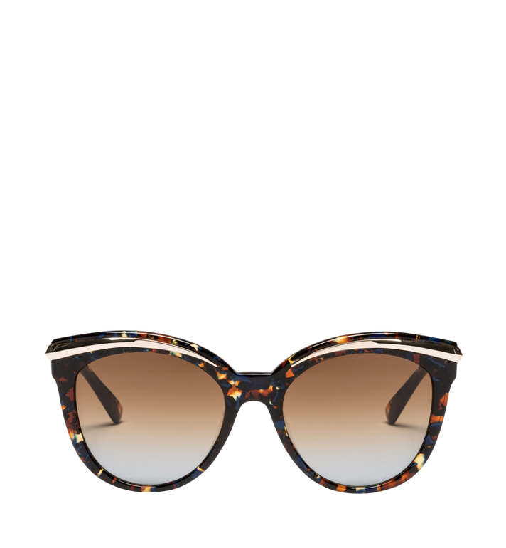 MCM Cat-Eye-Sonnenbrille mit Goldrahmen Alternate View