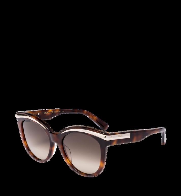 MCM Cat-Eye-Sonnenbrille mit Goldrahmen Alternate View 2