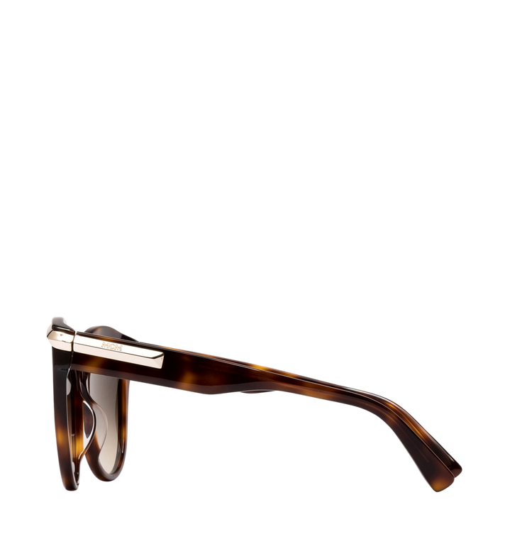 MCM Cat-Eye-Sonnenbrille mit Goldrahmen Alternate View 3