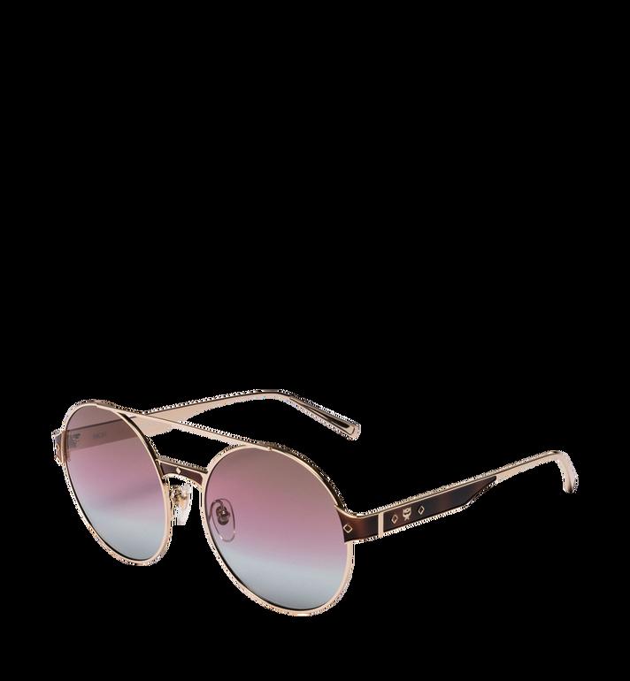 MCM Round Frame Sunglasses rose havana MEG8A2I05LS001 Alternate View 2