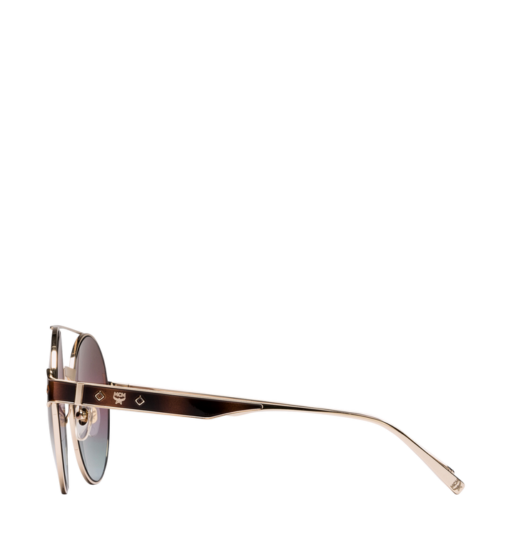MCM Round Frame Sunglasses rose havana MEG8A2I05LS001 Alternate View 3