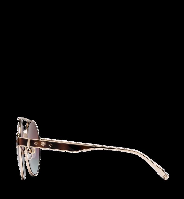 MCM Sonnenbrille mit rundem Rahmen rose havana MEG8A2I05LS001 Alternate View 3