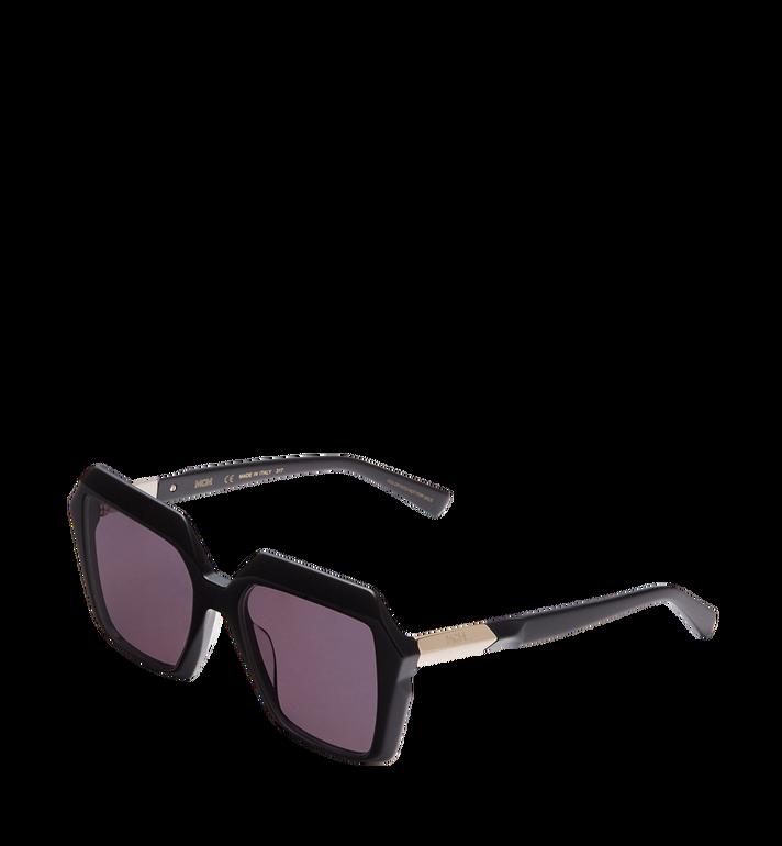 MCM Sonnenbrille in halber Rautenform Black MEG8S2I01BK001 Alternate View 2