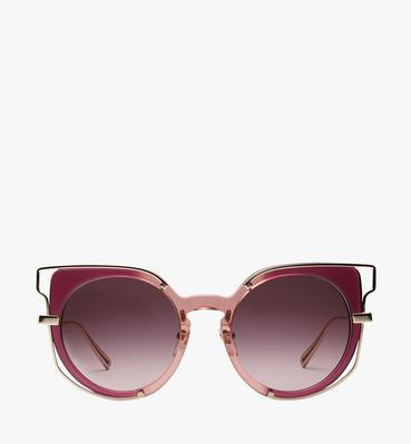 Frame-in-Frame Cat Eye Sunglasses