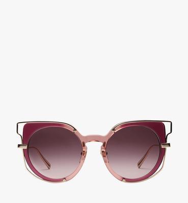 Frame-in-Frame Cat Eye Sunglasses