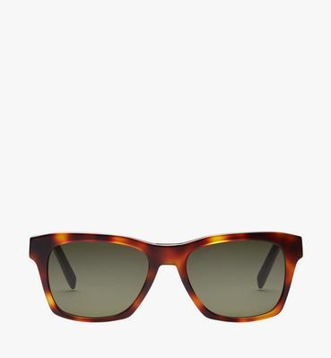 Sonnenbrille mit Logoplakette