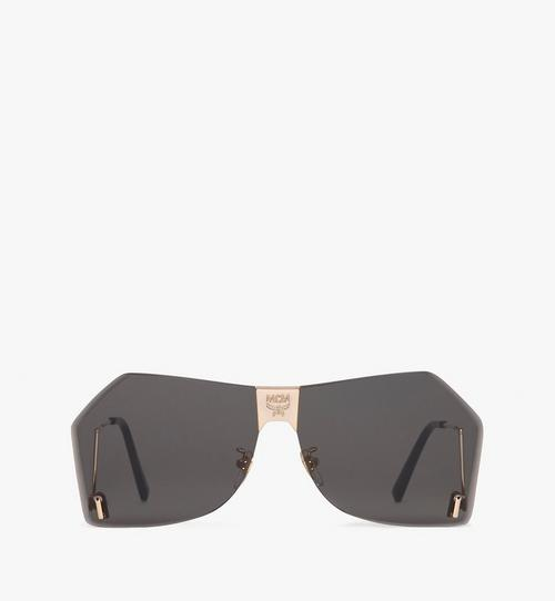 Geometric Oversized Sunglasses