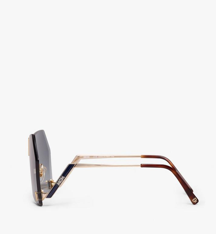 MCM Geometric Oversized Sunglasses  MEG9A2I03LU001 Alternate View 2