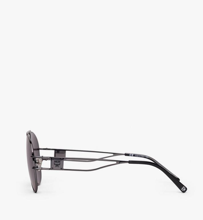 MCM Aviator Sunglasses Grey MEG9A2I04EG001 Alternate View 2
