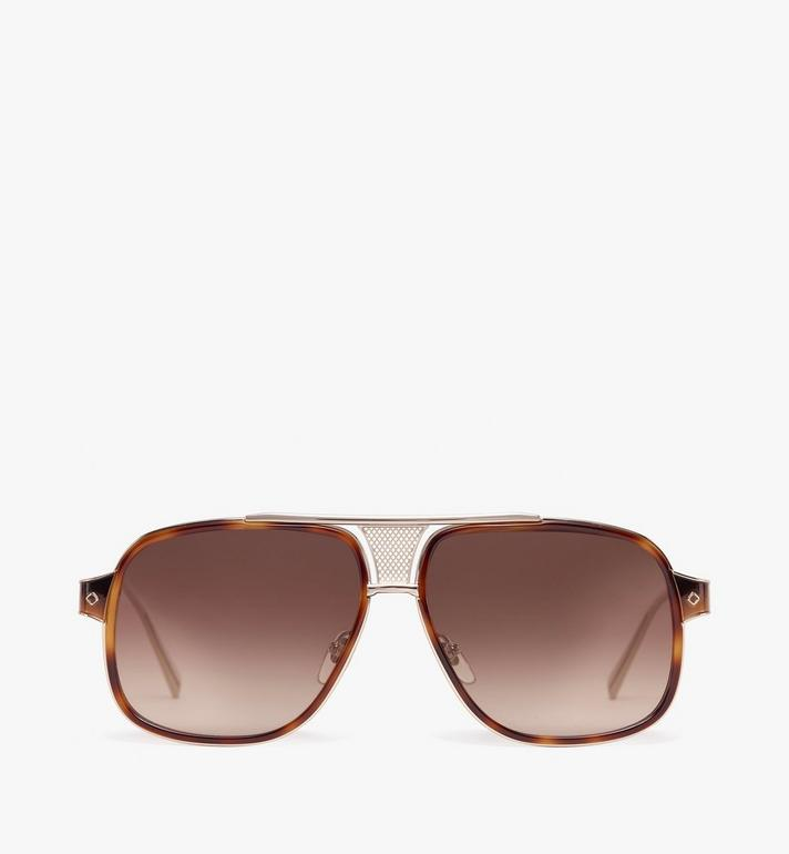 MCM Aviator 太陽眼鏡 Brown MEG9A2I05NR001 Alternate View 1