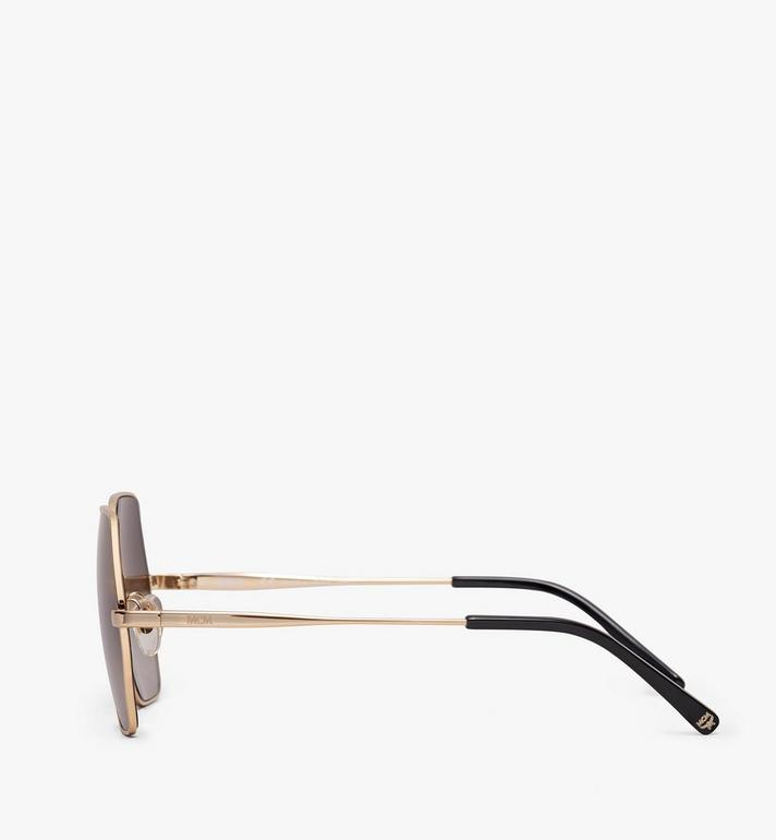 MCM Geometric Oversized Sunglasses Grey MEG9A2I06EG001 Alternate View 2