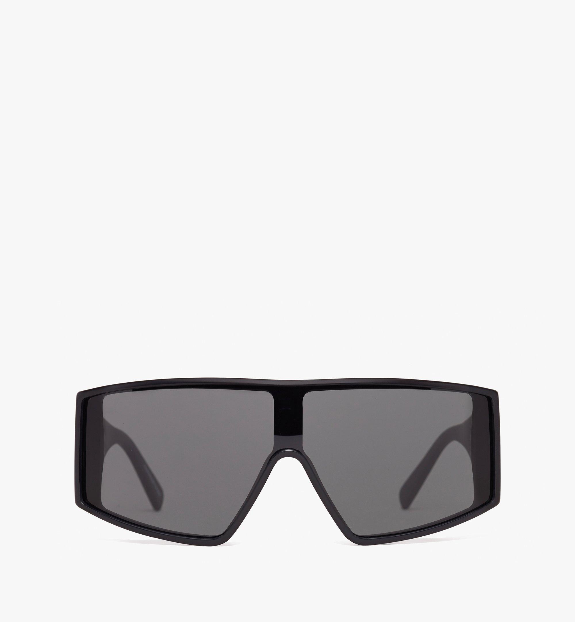 MCM Shield Sunglasses  MEG9A2I11BK001 Alternate View 1