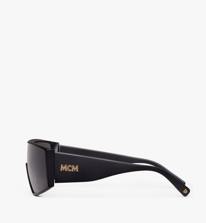 MCM Shield Sunglasses Black MEG9A2I11BK001 Alternate View 2