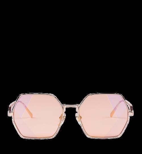 Sonnenbrille in achteckiger Form