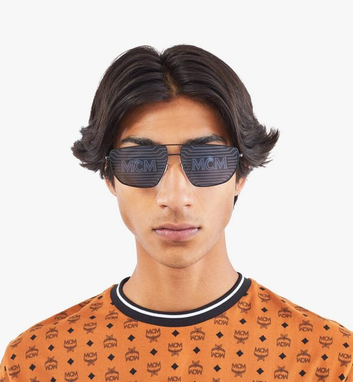 MCM Men's 151S Hologram Aviator Sunglasses  MEGAAMM11B2001 Alternate View 3