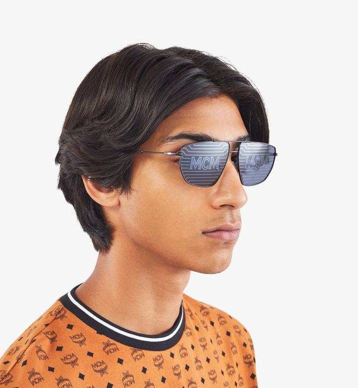 MCM Men's 151S Hologram Aviator Sunglasses  MEGAAMM11B2001 Alternate View 4